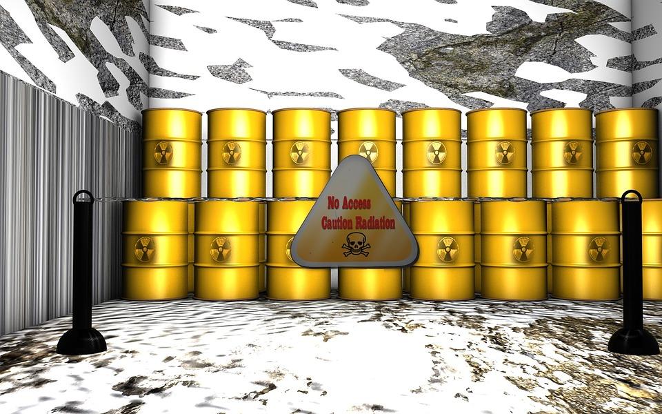 Atom, Barrel, Storage, Garbage, Environment