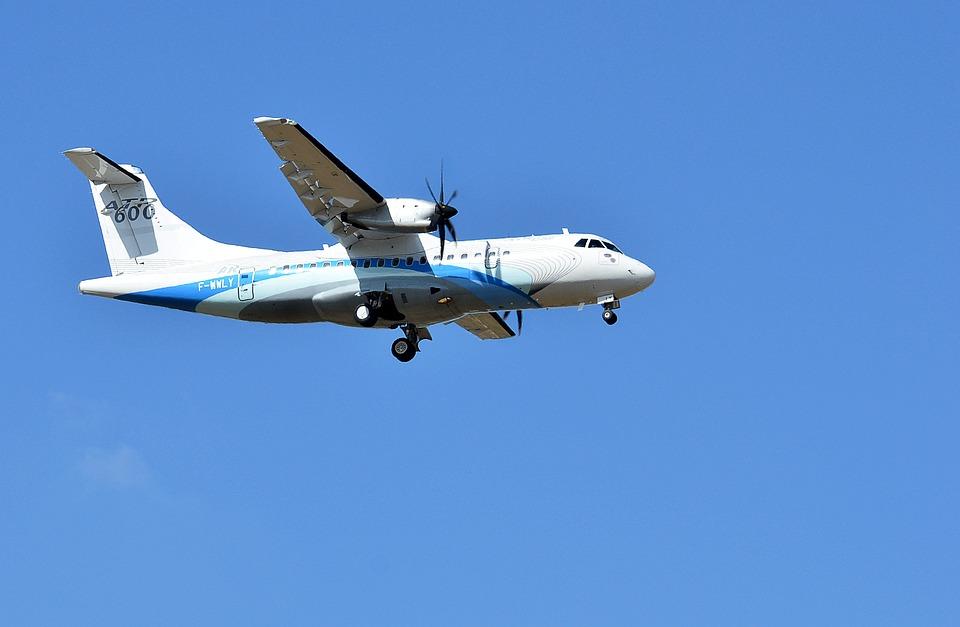 Aviation, Atr 600, Transport, Flight, Sky