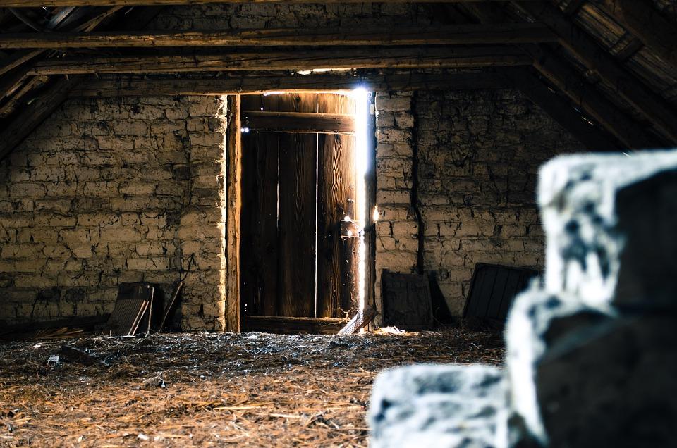 Attic Pise Old Attic Tile Light Mystery Door & Free photo Attic Pise Old Attic Mystery Light Tile Door - Max Pixel