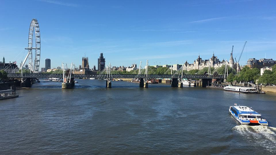 London, River, Tourism, Attractions, Travel