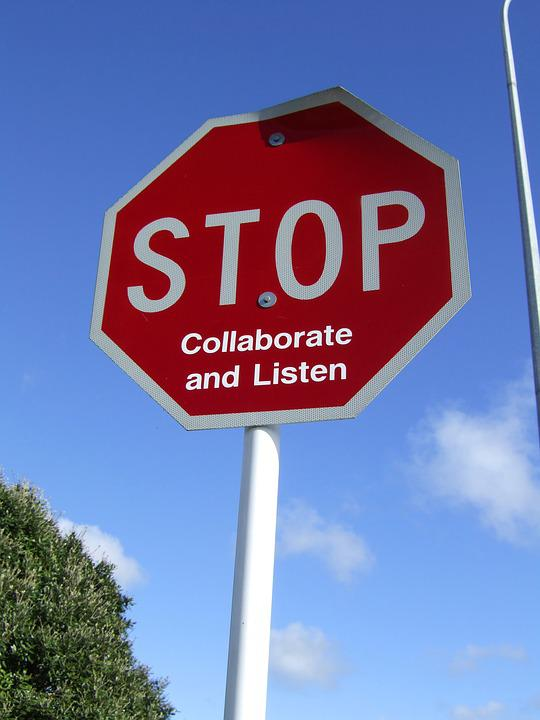 Modified Stop Sign, New Zealand, Auckland, Humour