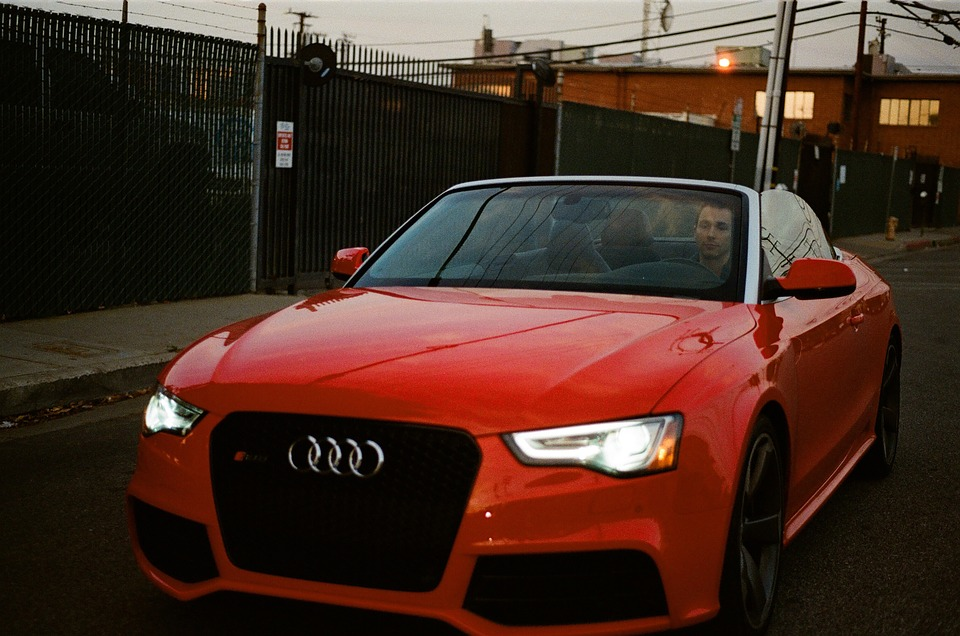 Audi, Cabriolet, Convertible, Car, Red, Sports