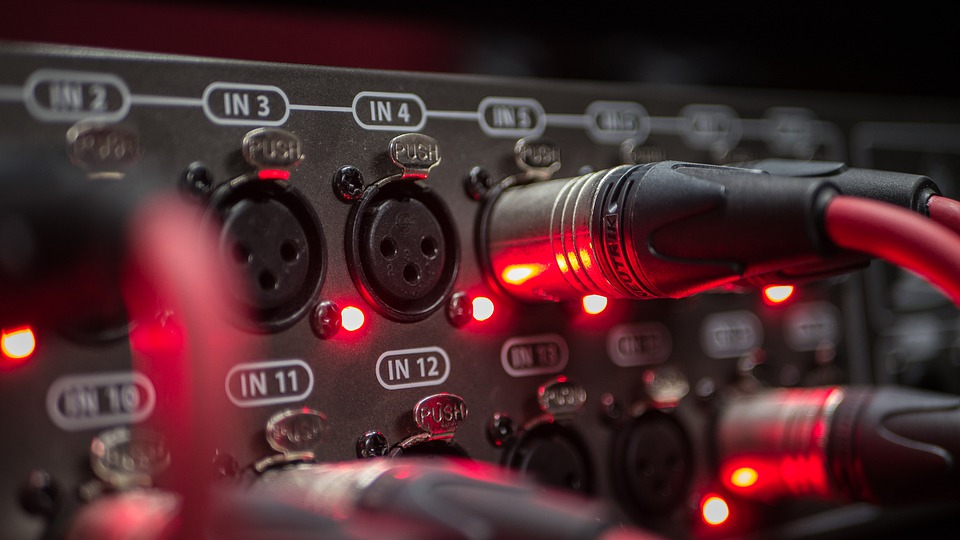 Microphone, Cable, Mixer, Music, Audio, Concert, Sound
