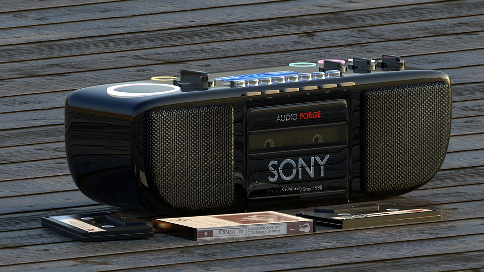 Nineties, Music, Recorder, Sony, Product, Design, Audio
