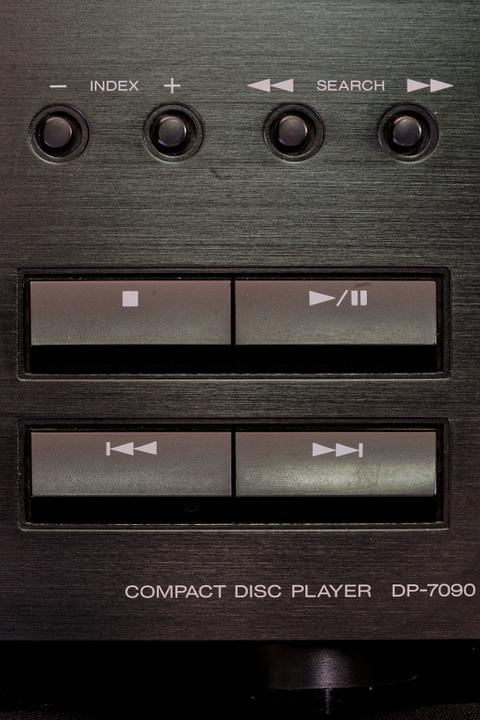 Free photo Audio Kenwood Cd Player Music Hifi Music System