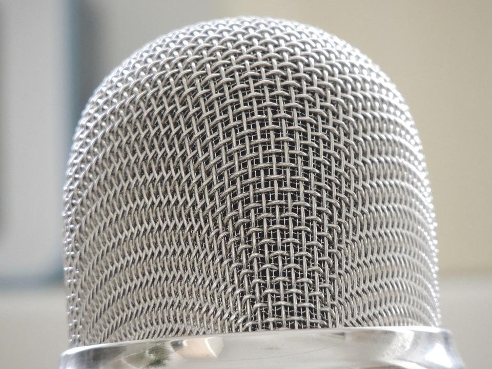 Microphone, Silver, Audio, Micro, Sound