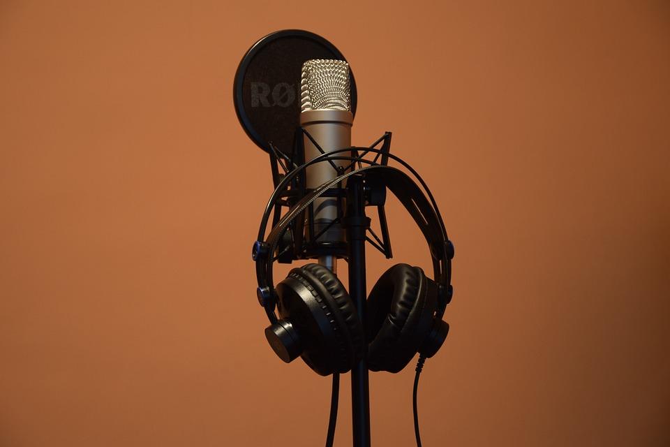 Music, Microphone, Headphones, Rode, Mic, Audio, Studio