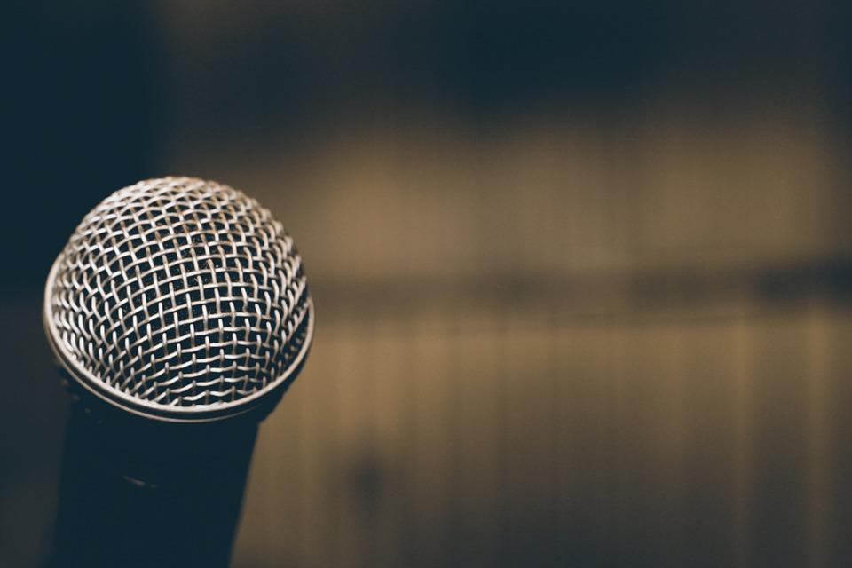 Microphone, Audio, Voice, Auditorium, Music, Corner