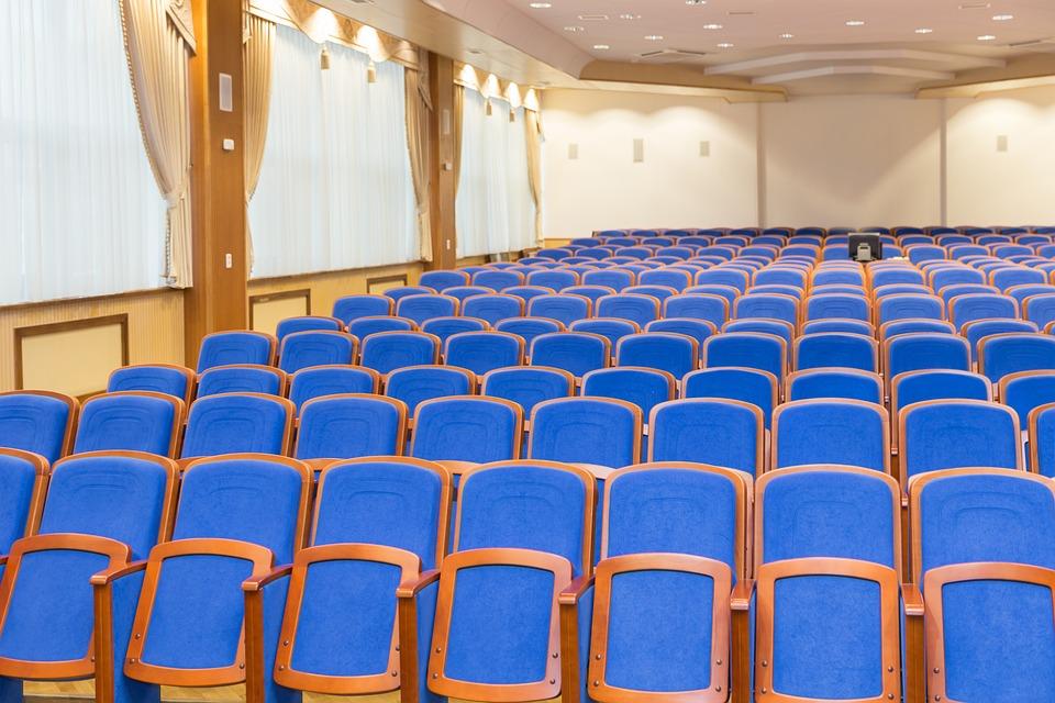 Auditorium, Lecture Hall, Convention, Concert, Hall