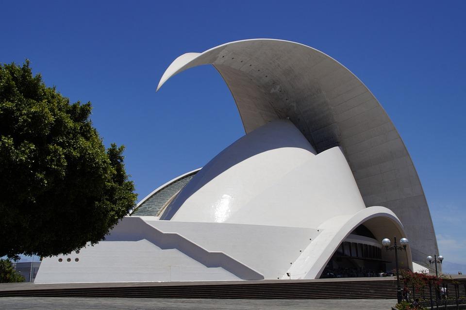Auditorium, Music Hall, Symphony Orchestra, Tenerife