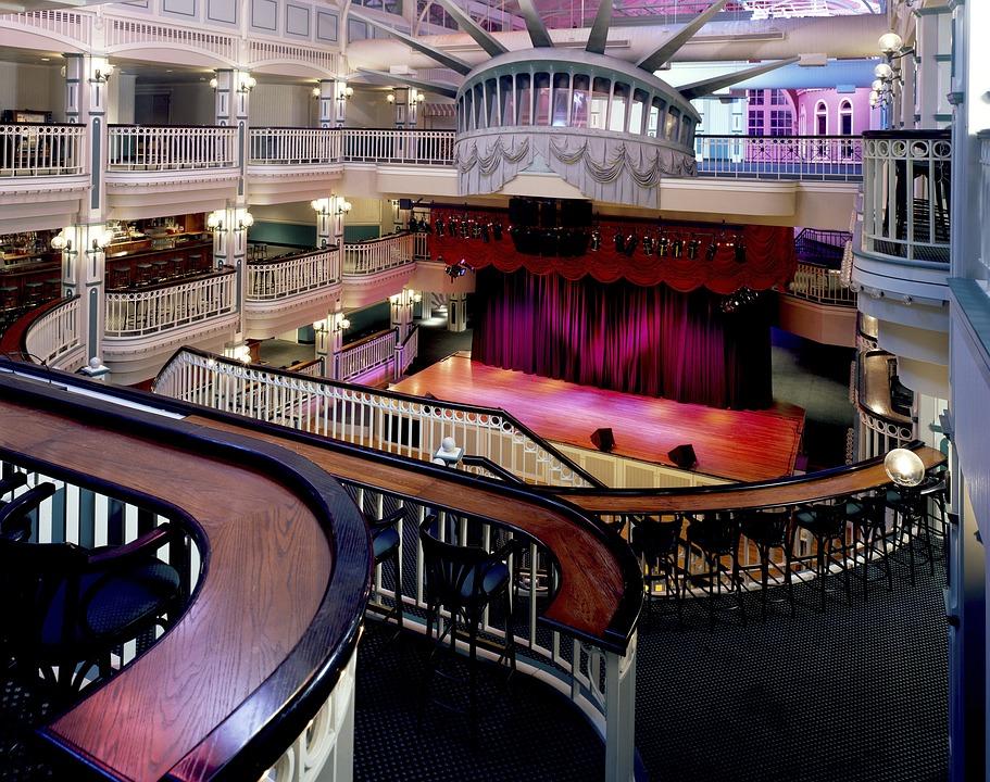 Auditorium, Baltimore, Maryland, Usa, America