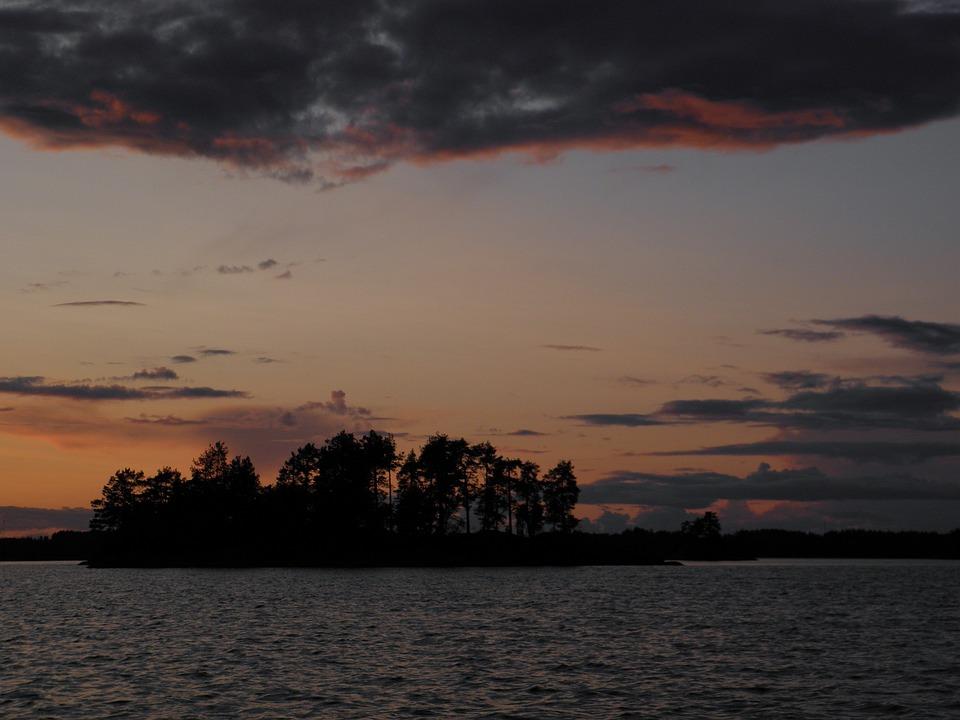 Finnish, August, Nature Photo, Saimaa, Savonlinna, Lake