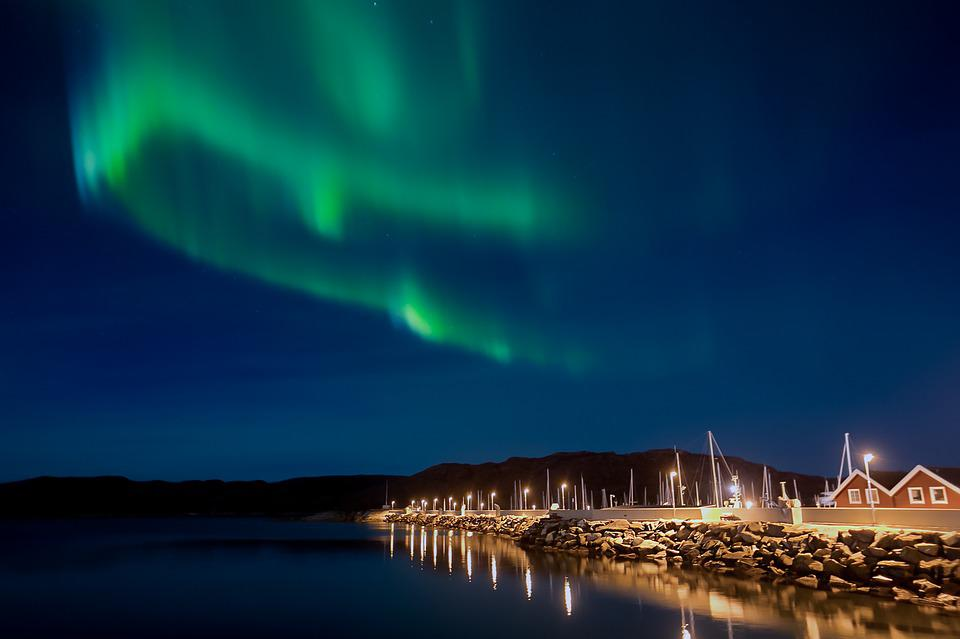 Northern Lights, Aurora Borealis, Night, Aurora
