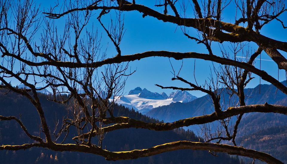 Aussersee, Dachstein, Hiking, Austria, Mountain