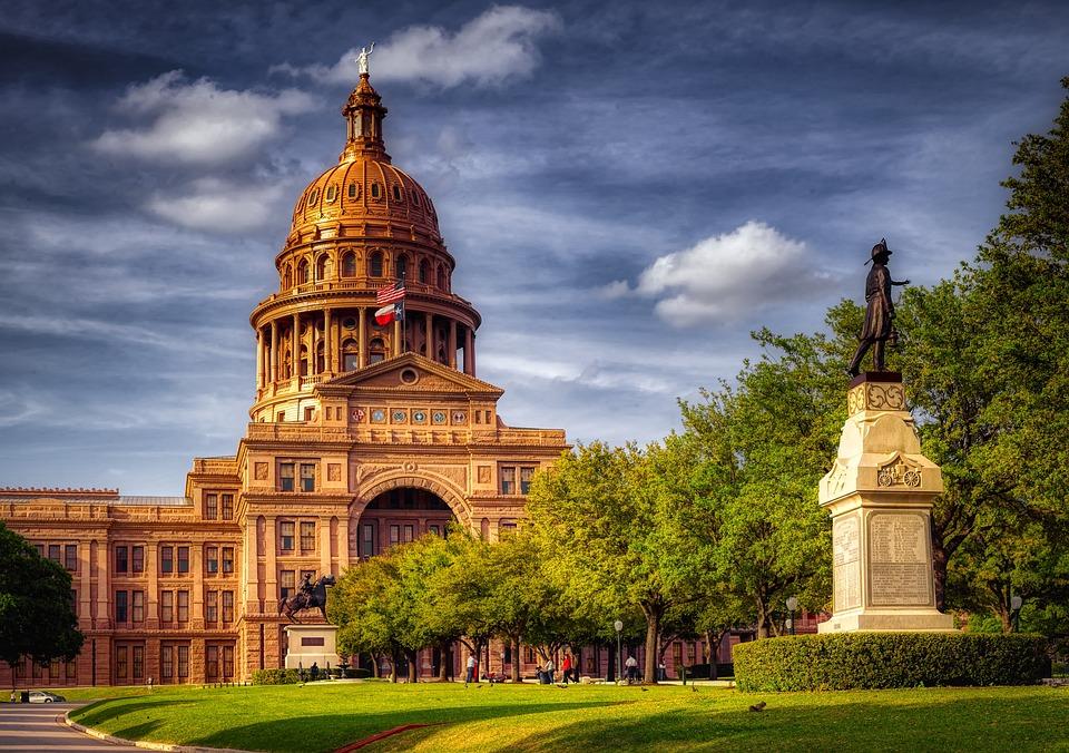 Texas State Capitol, Austin, America, Architecture