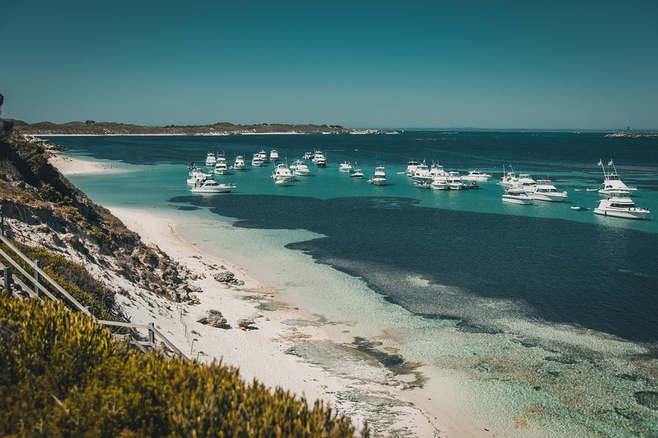 Beach, Water, Ocean, Boats, Australia