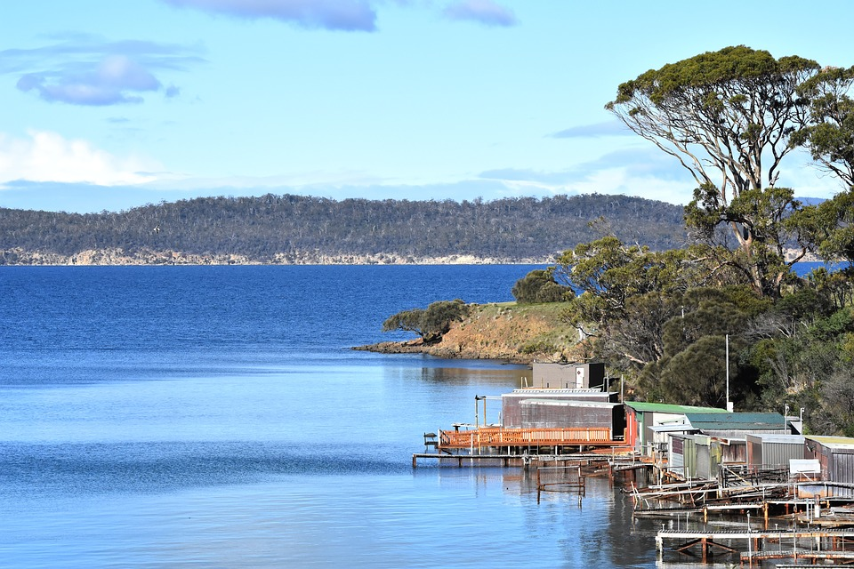 Australia, Boat Shed, Boat-shed, Jetty, Water