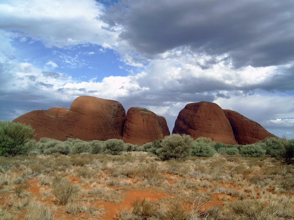 Nature, Landscape, Rock, Australia, Olga, Spherical