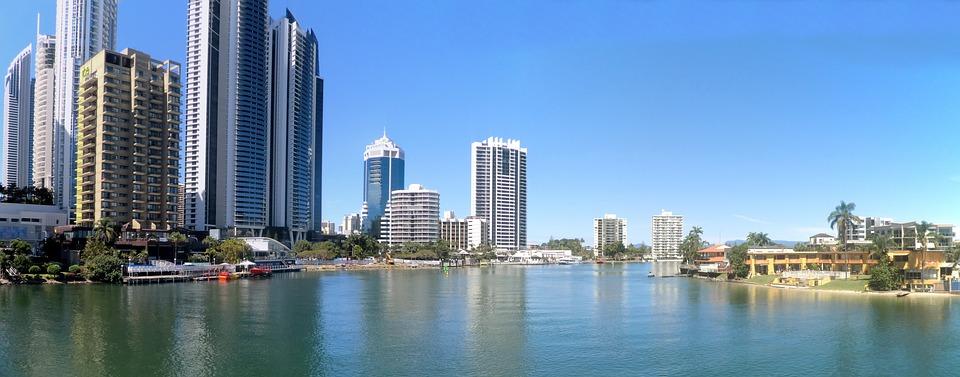 Goldcoast, Queensland, Australia, Panorama