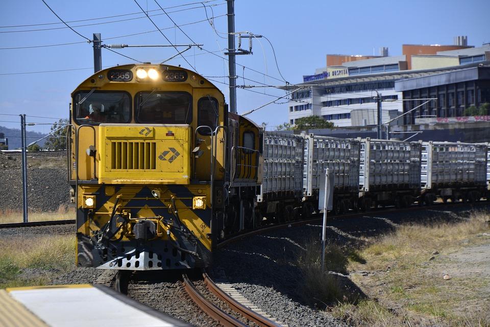 Brisbane, Train, Travel, Australia, Road, Railway