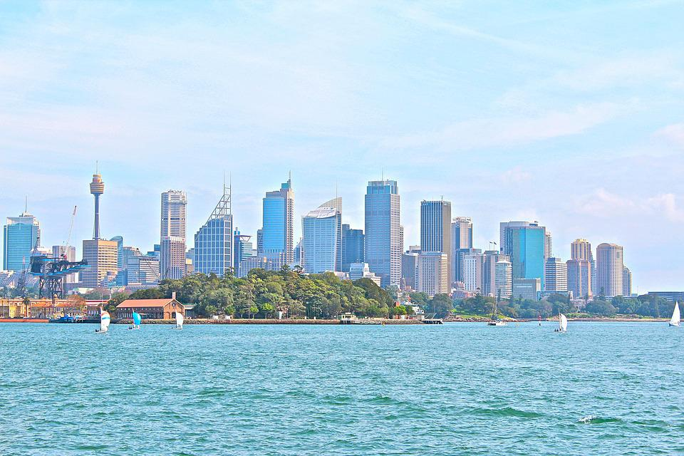 Sydney, Australia, City, Port, Architecture, Skyline