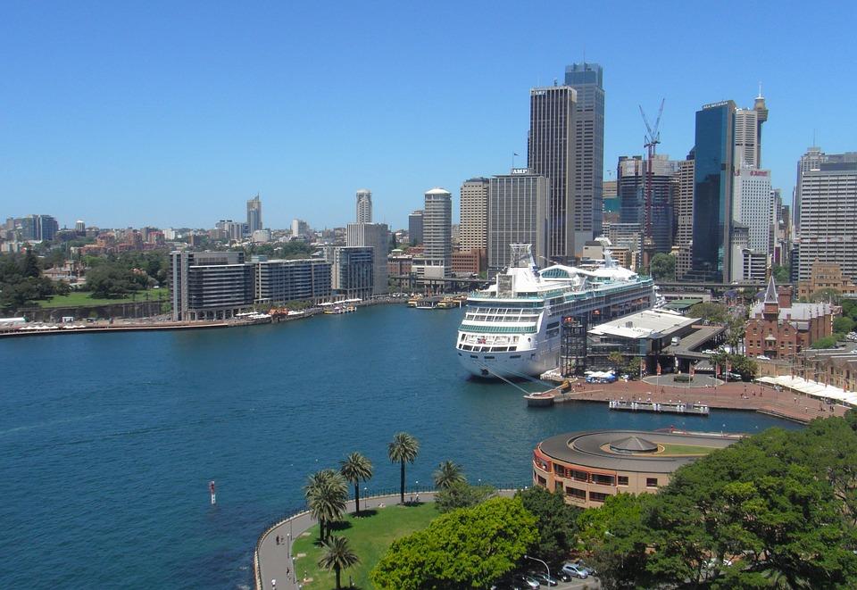 Sydney, Australia, Skyline, Skyscrapers, Buildings
