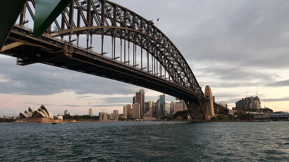 Sydney, Harbour Bridge, Harbour, Bridge, Australia