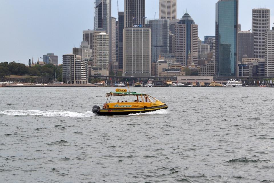 Water Taxi, Sydney Harbour, Nsw, Australia, Sydney