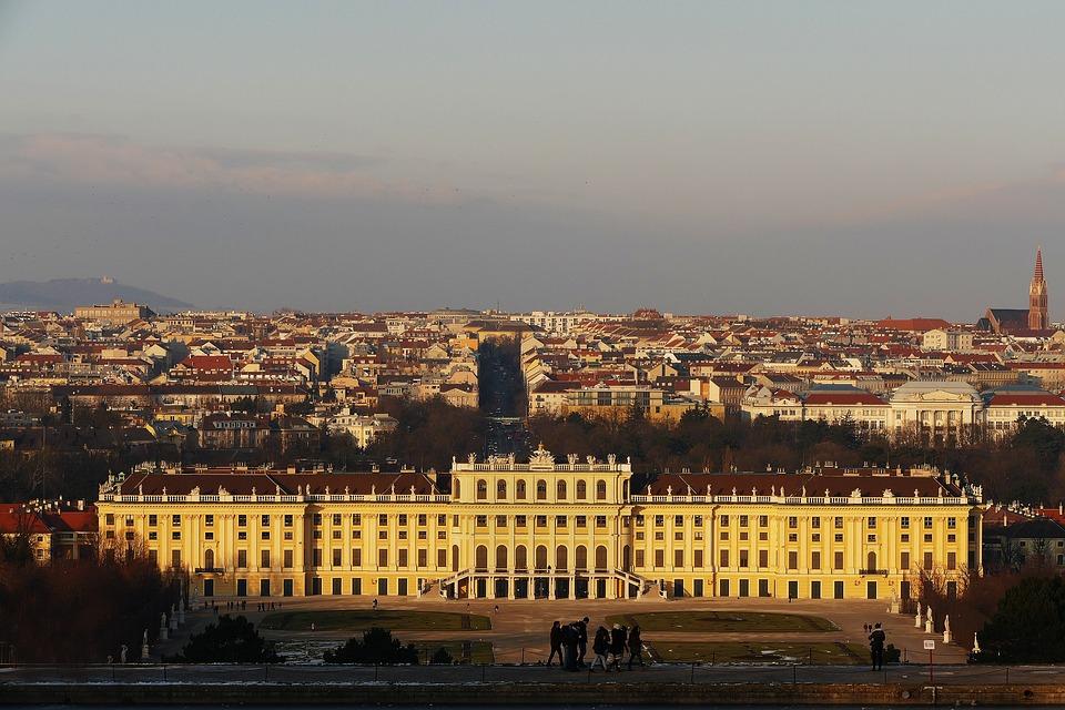 Schönbrunn, Castle, Vienna, Austria, Architecture