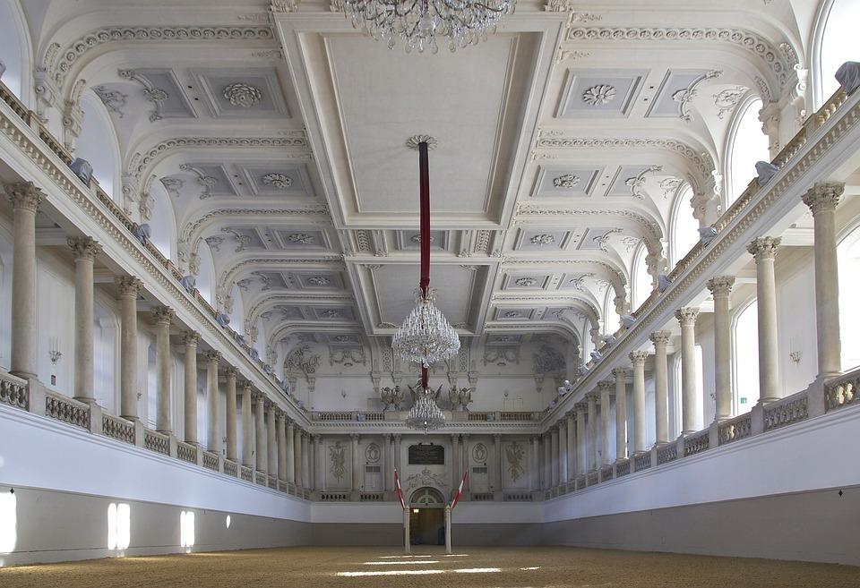 Vienna, Austria, Architecture, Ceiling, Ring