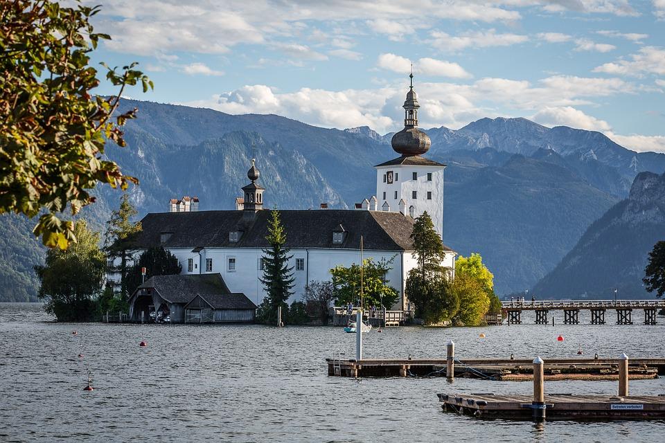 Gmunden, Traunsee, Austria, Alpine, Castle Venue