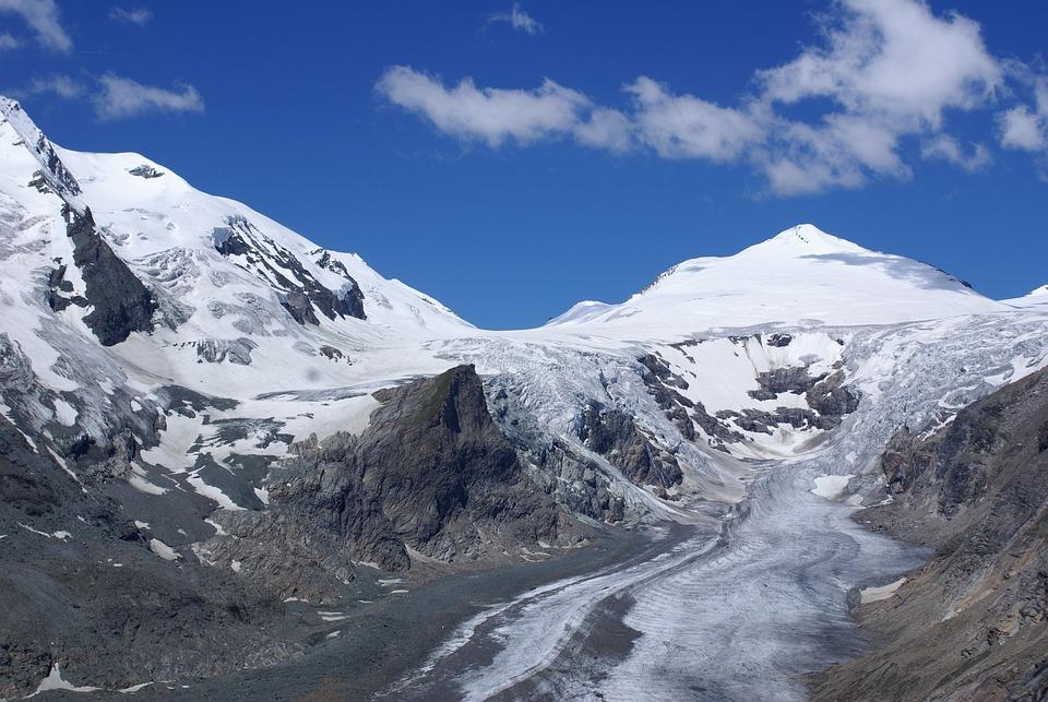 Austria, Hohe Tauern, Pasterze Glacier