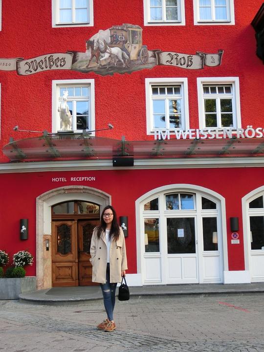 Austria, The White Horse Hotel, Hotel