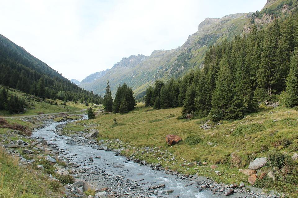 Jamtal, Tyrol, Austria, Landscape, Mountains, Alpine