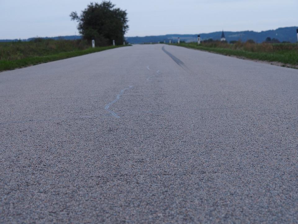 Road, Weinviertel, Lower Austria, Austria, Nature