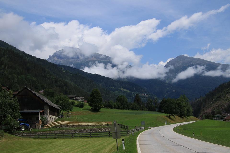 Landscape, Mountain Landscape, Mountains, Austria