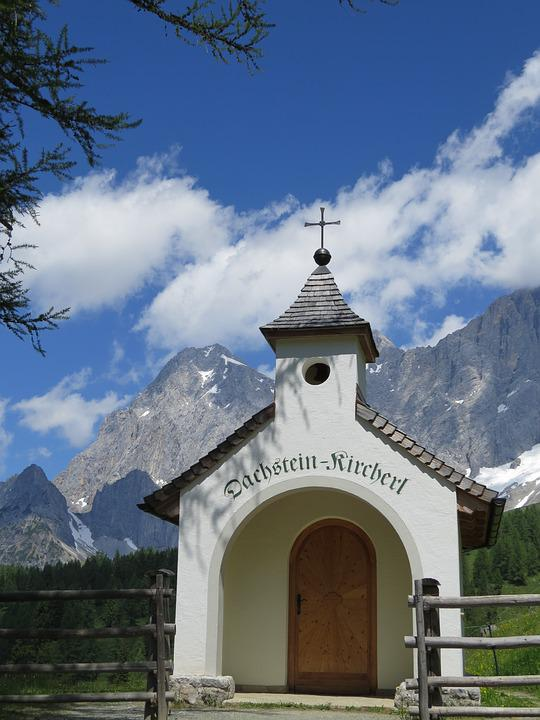 Church, Chapel, Mountains, Cross, Austria