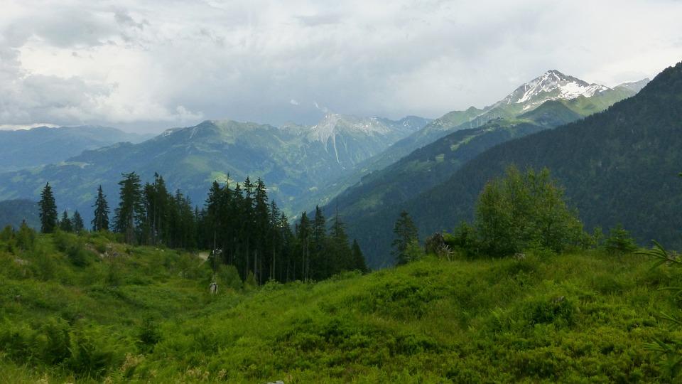 Austria, Mountains, Landscape, Heaven, Clouds, Nature