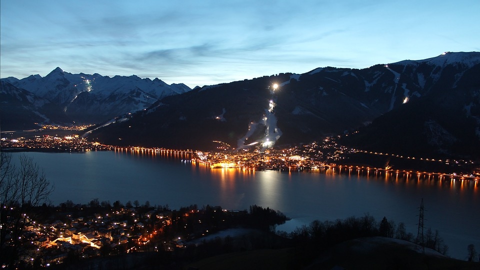 Zell Am See, Austria, Mountains, Landscape, The Alps