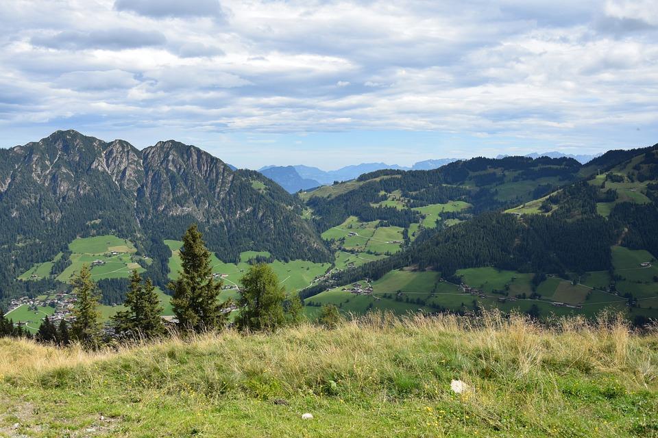 Landscape, Nature, Mountain, Panorama, Sky, Austria