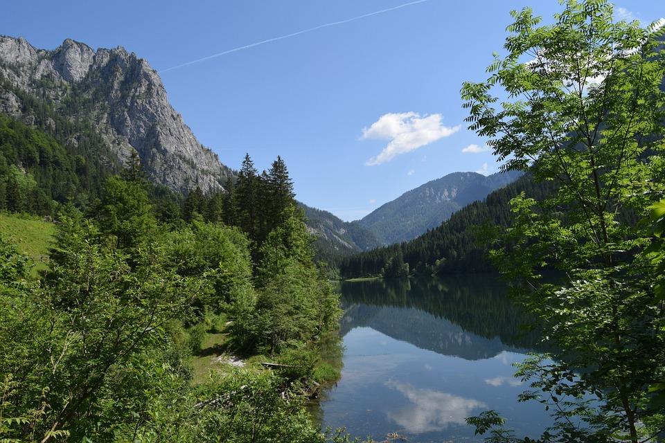 Austria, Presceny Klause, Styria, Water, Landscape