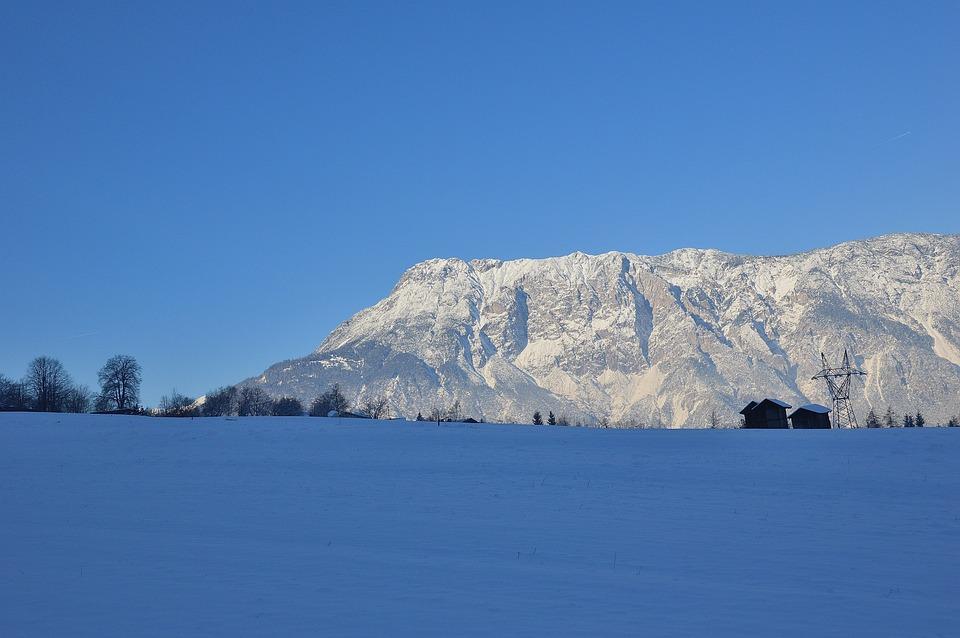 Sautens, Winter, Snow, Tyrol, Mountains, Austria