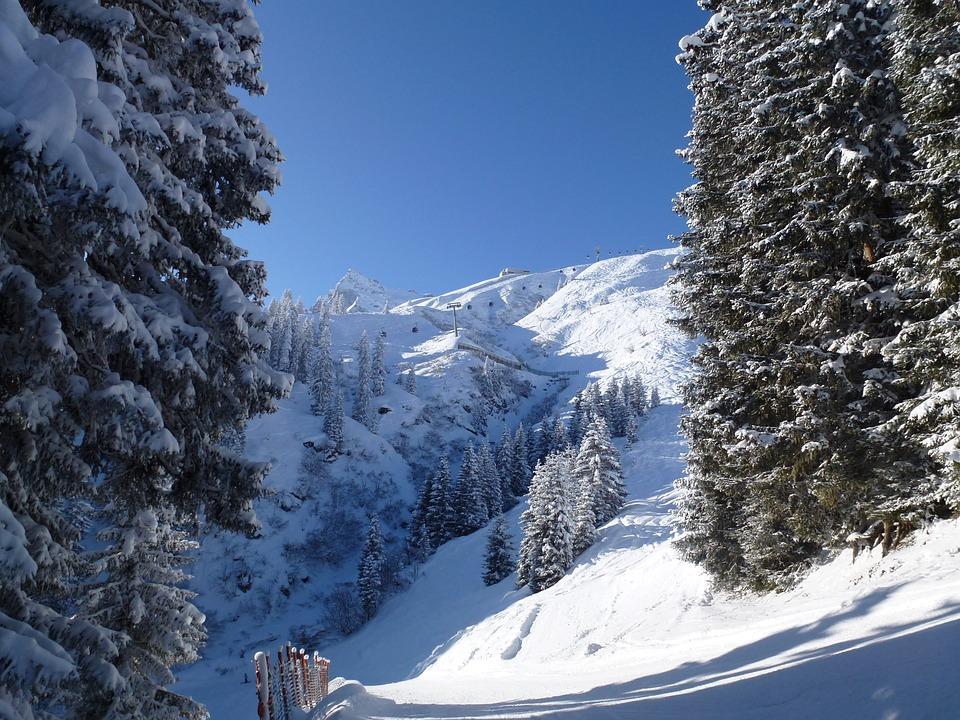 Winter, Montafon, Austria
