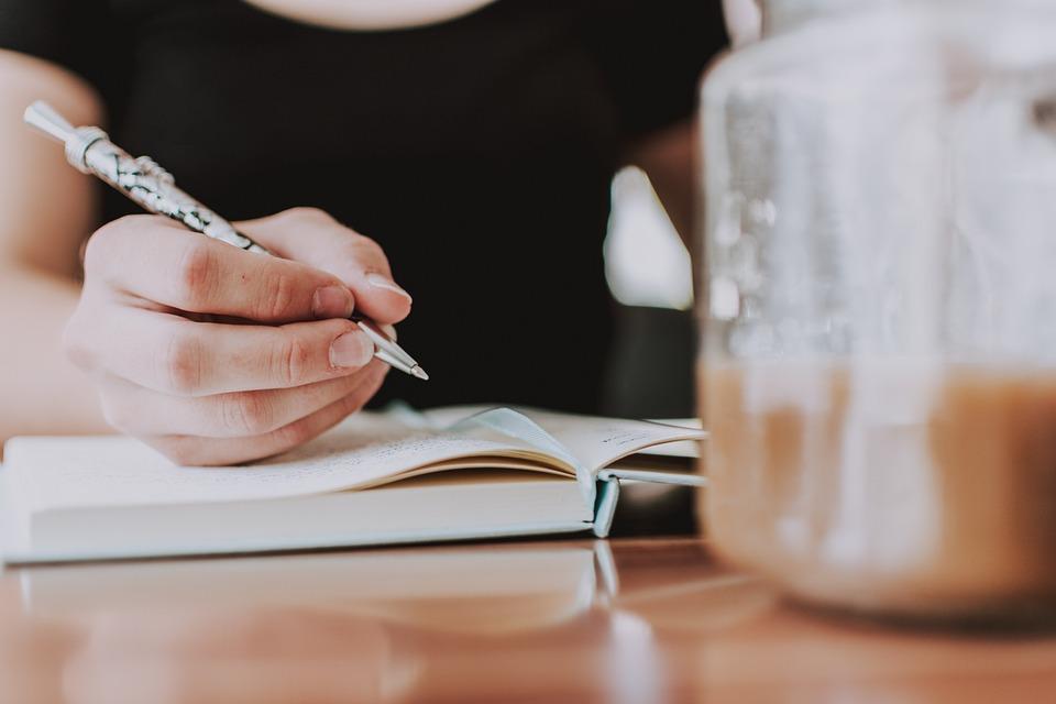 Write, Coffee, Notebook, Blogger, Author