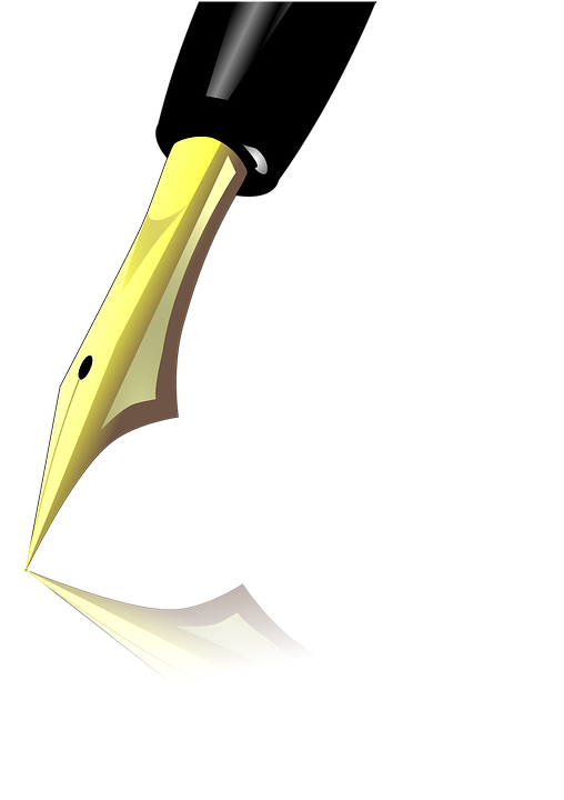 Filler, Pen, Fountain Pen, Author, Write, Publish