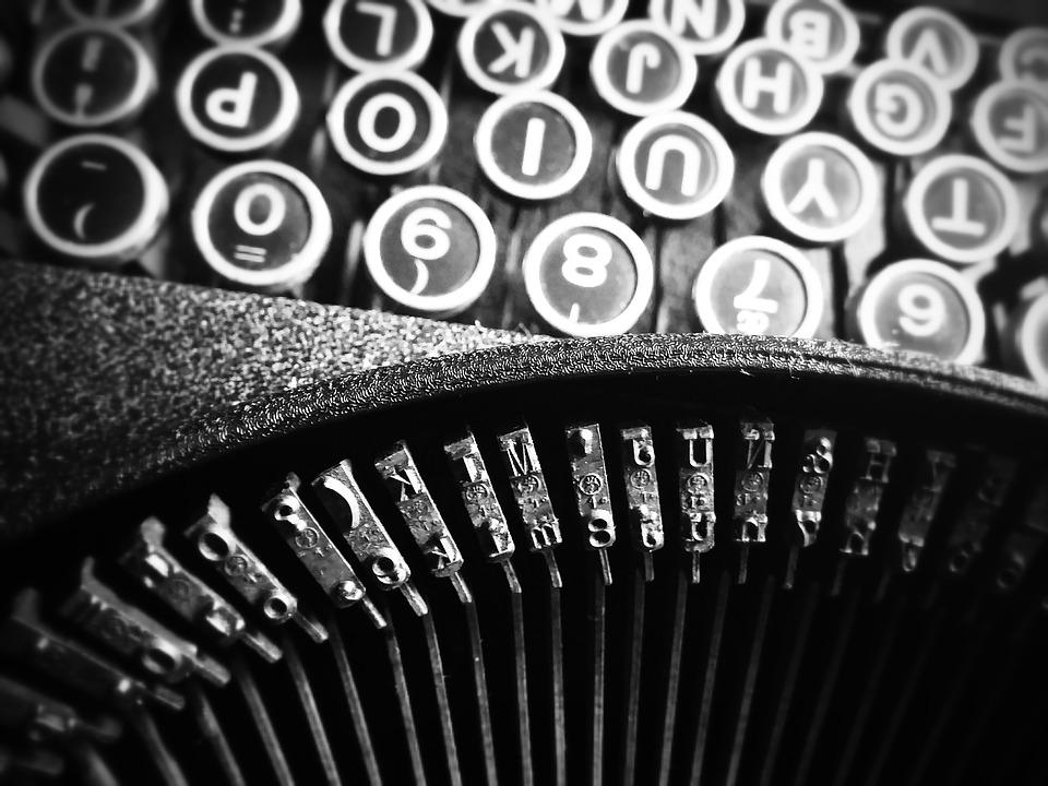 Type, Typewriter, Font, Writing, Author, Book, Read