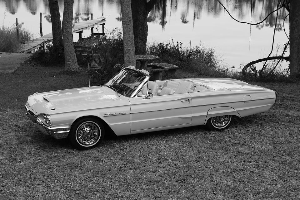 Thunderbird, Ford, Car, Auto, Automobile, Antique
