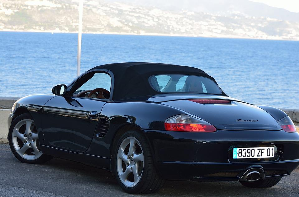 Free Photo Auto Car Porsche Boxster Black Sport Twoseater Max Pixel - Two seater sports cars