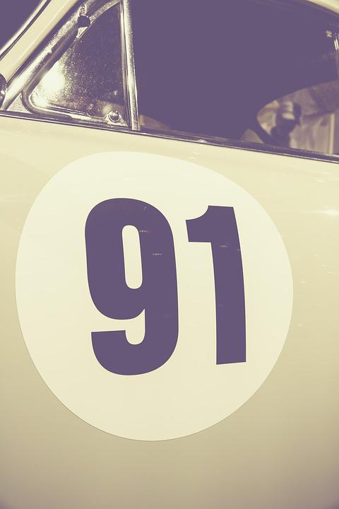 Number, Characters, Auto, Pkw, Classic, Oldtimer