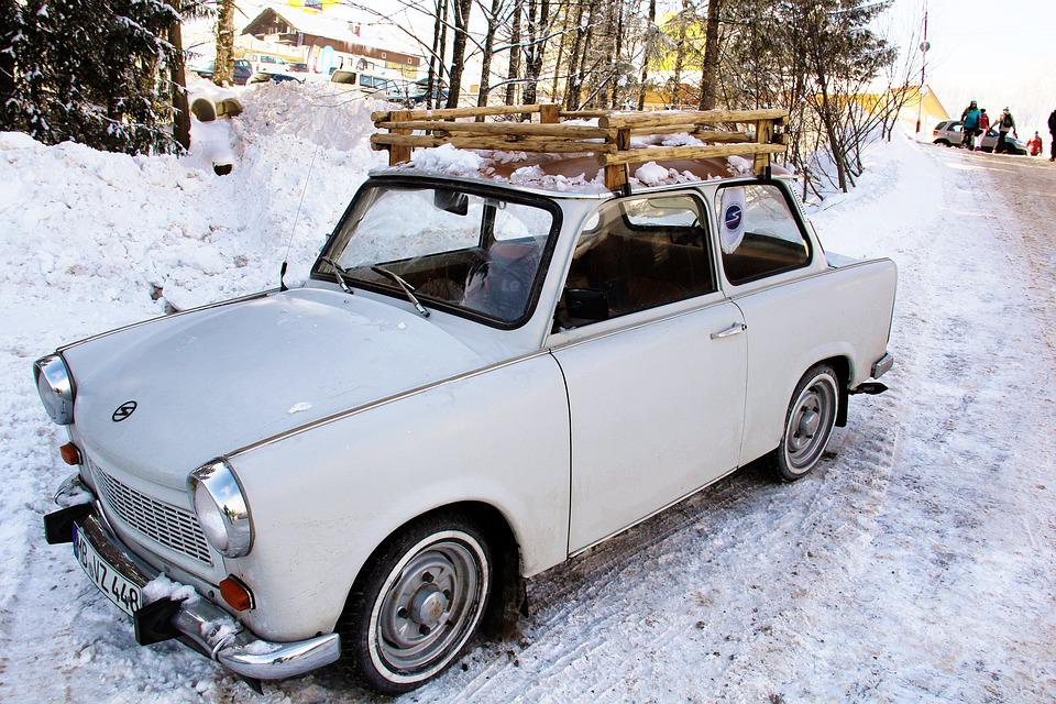 Trabbi, Auto, Satellite, Vehicle, Oldtimer, Classic